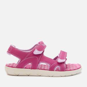 Timberland Kids' Perkins Row 2-Strap Sandals - Medium Pink