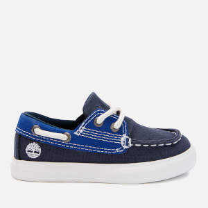 Timberland Toddlers' Newport Bay Boat Shoes - Black Iris