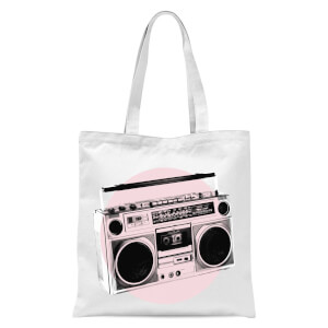Boom Times Tote Bag - White