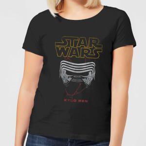 Star Wars Kylo Helmet Women's T-Shirt - Black