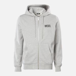 Diesel Men's Girk Zip Hoody - Light Grey Melange