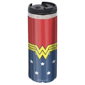 Wonder Woman Stainless Steel Thermo Travel Mug