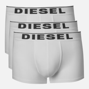 Diesel Men's Damien 3 Pack Boxer Shorts - White
