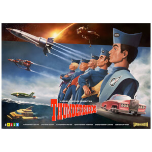Thunderbirds Lithograph by Henrik Sahlstrom
