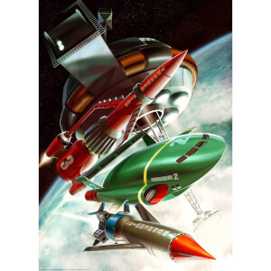 Thunderbirds Lithograph by Jake Lynch