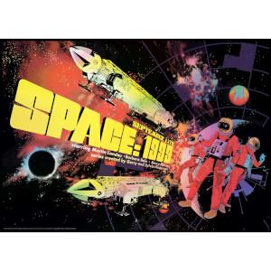 Space 1999 Lithograph by Raid71