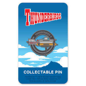 Thunderbirds Enamel Pin Badge 5