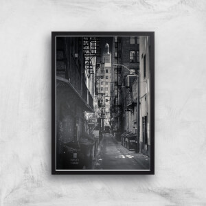 Dark Alleyway Giclee Art Print