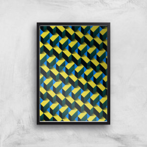 Criss Cross Giclee Art Print