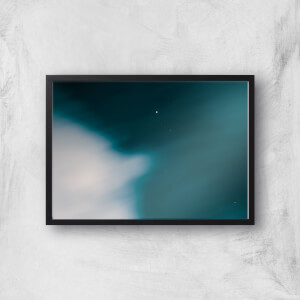Blurry Skies Giclee Art Print