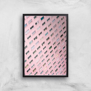 Pink Windows Giclee Art Print