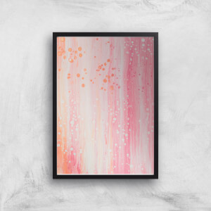 Washed Out Pink Giclee Art Print