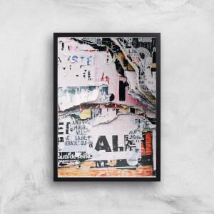 Post No Bills Giclee Art Print