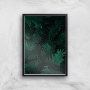 Dark Forest From Above Giclee Art Print