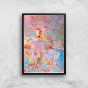 My Soul Is Glittered Giclee Art Print
