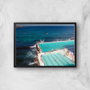 Avoiding A Swim In The Sea Giclee Art Print