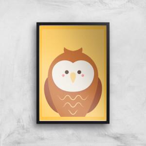 Barn Owl Giclee Art Print