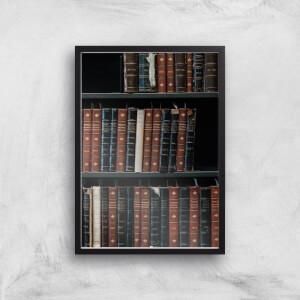 Bookcase Giclee Art Print