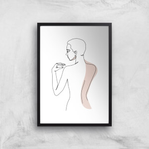 Itchy Back Giclee Art Print