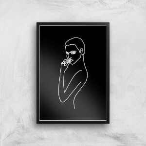 Not In The Mood Tonight Giclee Art Print