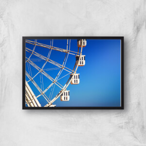 Ferris Wheel Carriages Giclee Art Print