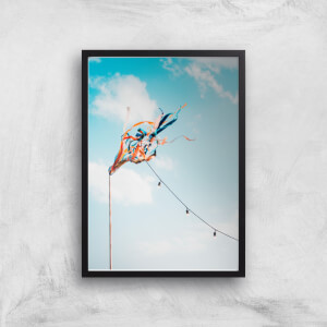 Fluttering In The Wind Giclee Art Print