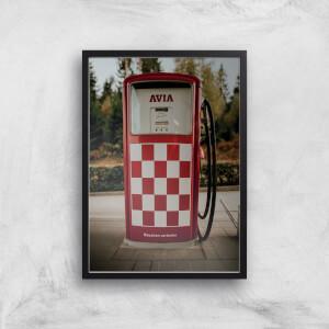 Petrol Giclee Art Print
