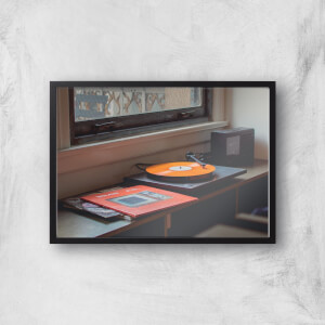 Record Player Giclee Art Print