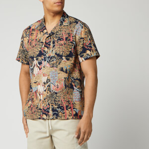 YMC Men's Malick Shirt - Hawaiian