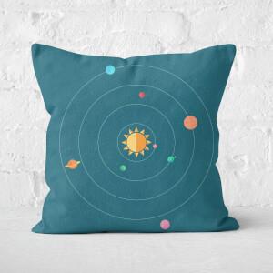 Solar System Square Cushion