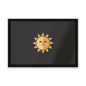 The Sun Entrance Mat