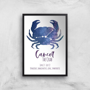 Cancer The Crab Giclée Art Print