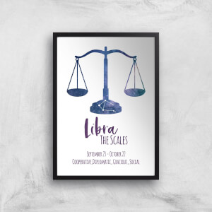 Libra The Scales Giclée Art Print