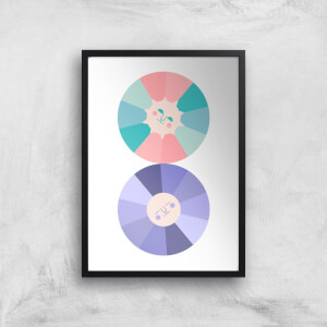 When The Sun And Moon Collide Giclée Art Print