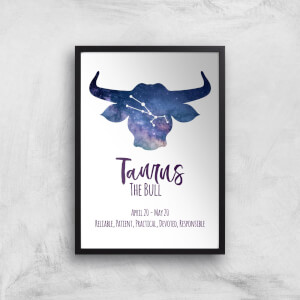 Taurus The Bull Giclée Art Print