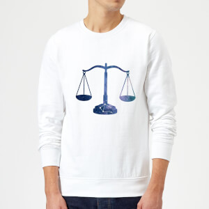 Libra Sweatshirt - White
