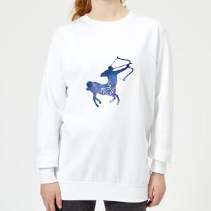 Sagittarius Women's Sweatshirt - White