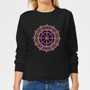 Wheel Of Fortune Women's Sweatshirt - Black