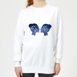 Gemini Women's Sweatshirt - White