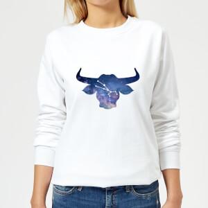 Taurus Women's Sweatshirt - White