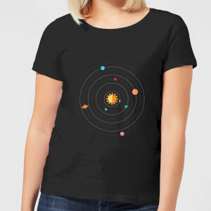 Solar System Women's T-Shirt - Black