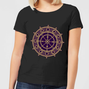 Wheel Of Fortune Women's T-Shirt - Black