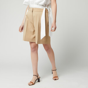 Victoria, Victoria Beckham Women's Tailored Shorts - Camel
