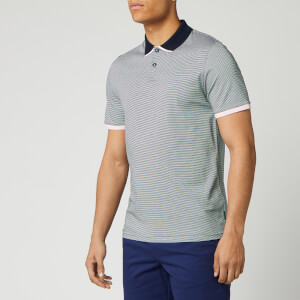 Ted Baker Men's Caffine Striped Polo Shirt - Navy