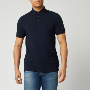 Ted Baker Men's Infuse Textured Polo Shirt - Navy