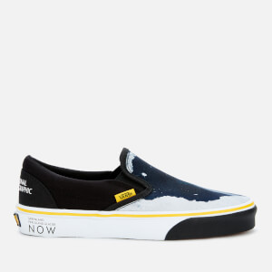 Vans X National Geographic Classic Slip-On Trainers - Then/Now Glacier
