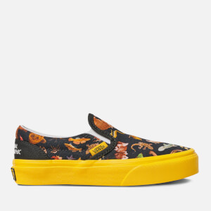 Vans X National Geographic Kids' Classic Slip-On Trainers - Photo Ark