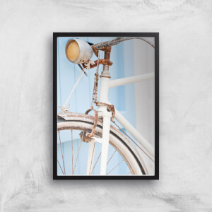 Rusty Bicycle Giclee Art Print