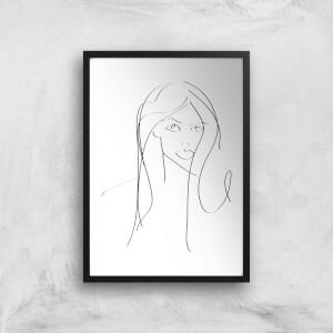 Becky Giclee Art Print