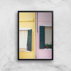 Holiday Home Giclee Art Print